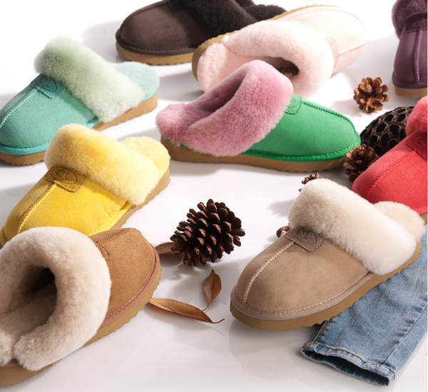 Unisex Extra Comfy Sheepskin Slippers