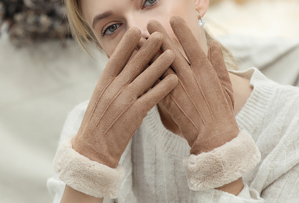 Sheepskin Touch screen Gloves