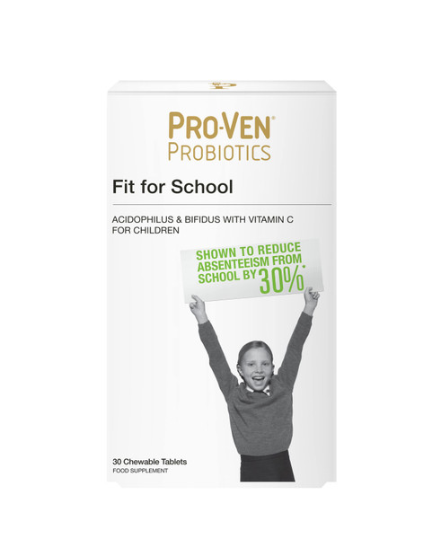 ProVen Probiotics For Kids (Chewable Tablets) - Fit For School With Vitamin C