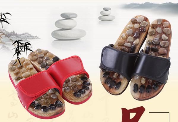 Natual Stone Acupoint Massage Reflexology Sandals