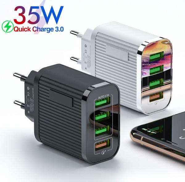 4USB fast charging plug