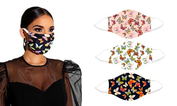 Reusable Butterfly Face Masks