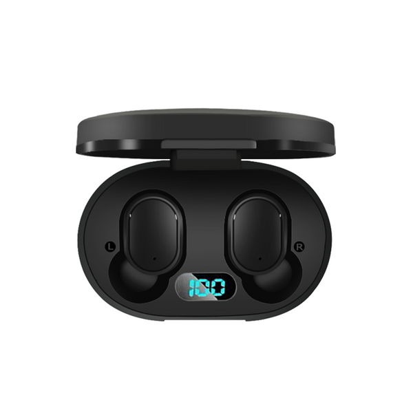 A6L Bluetooth 5.0 Earbuds with charging case battery volume