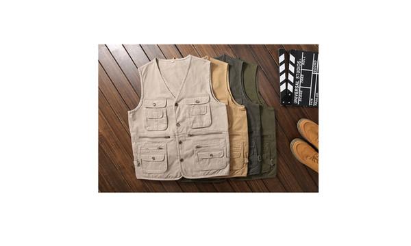 Casual fishing photography vest men vest vest