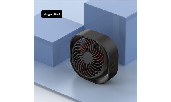 Round desk rechargeable USB fan fan
