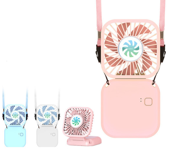 3000mAh Rechargeable Portable Folding Fan