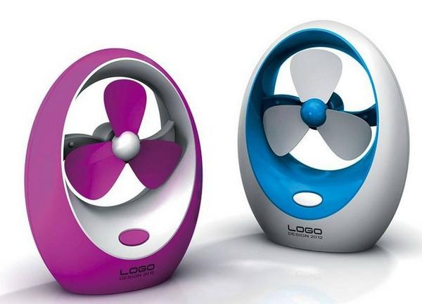 USB or battery mini fan