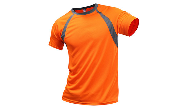 Colorblock  Versatile  quick drying performance T-shirt -LA