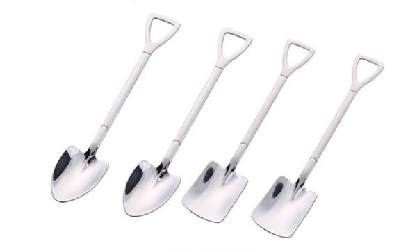 304 stainless steel shovel watermelon dessert spoon-Laf