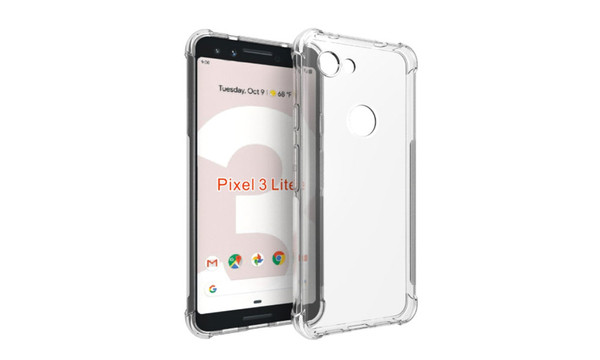 Liquid Crystal Compatible for Google Pixel 3a Case Cover  - Crystal Clear