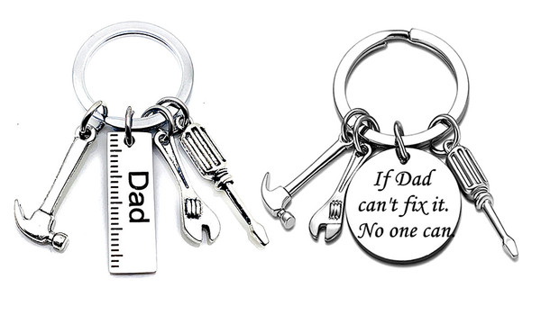 2021 Father's Day Engraved Keychain