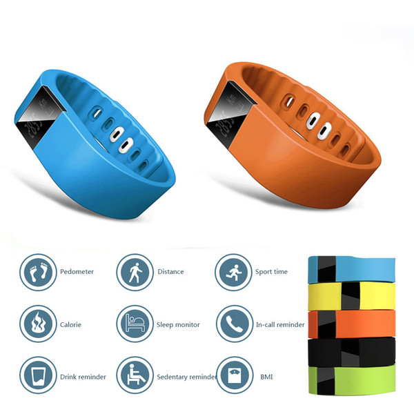 Health Monitor Smart Bluetooth Sports Activity Bracelet