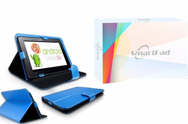 Android 5.0 QuadCore 9inch SmartPad with PU case