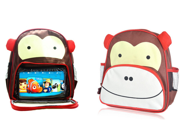 2 in 1 Kids Cartoon Bag and Tablet Holder