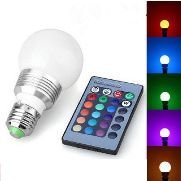 Remote Control Colour Change LED Bulb