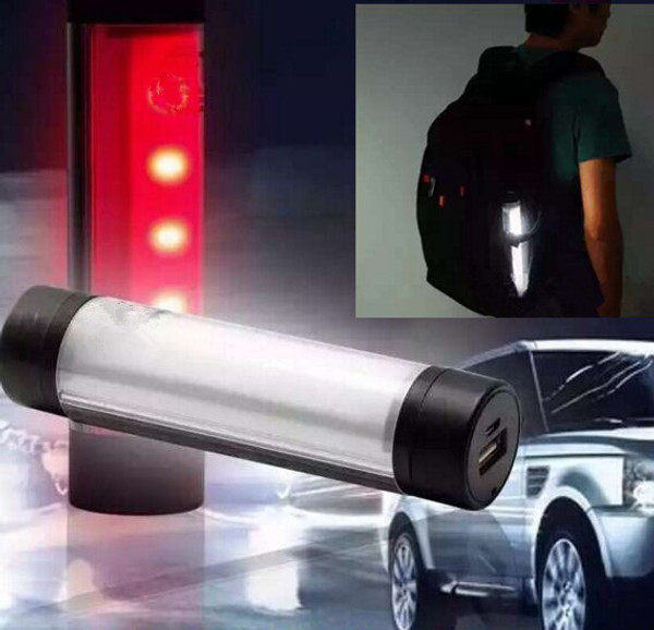 LED emergency light and power bank