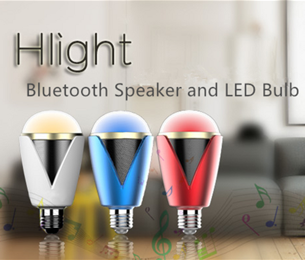 App Control Bluetooth 4.0 Music LED Bulb with Speaker