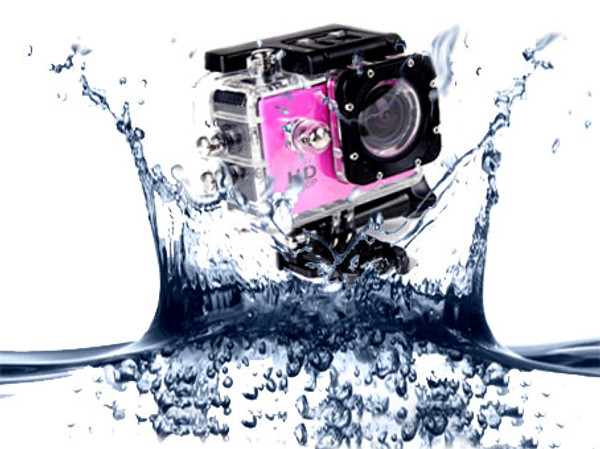 AdventurePro Waterproof HD1080P Sports Camera with accessories
