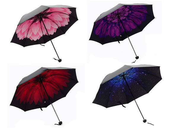 3D Print Anti-UV windproof foldable umbrella
