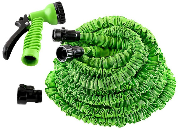 Jaoyeh 3 x Expandable hose pipe with spray gun