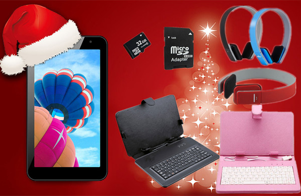 Christmas Exclusive Offer SmartPad7 Lite Android 4.4 Tablet with Options