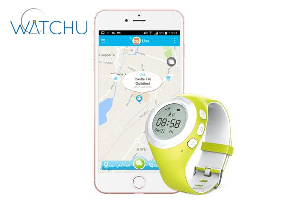 WATCHU GPS KIDS TRACKER WATCH