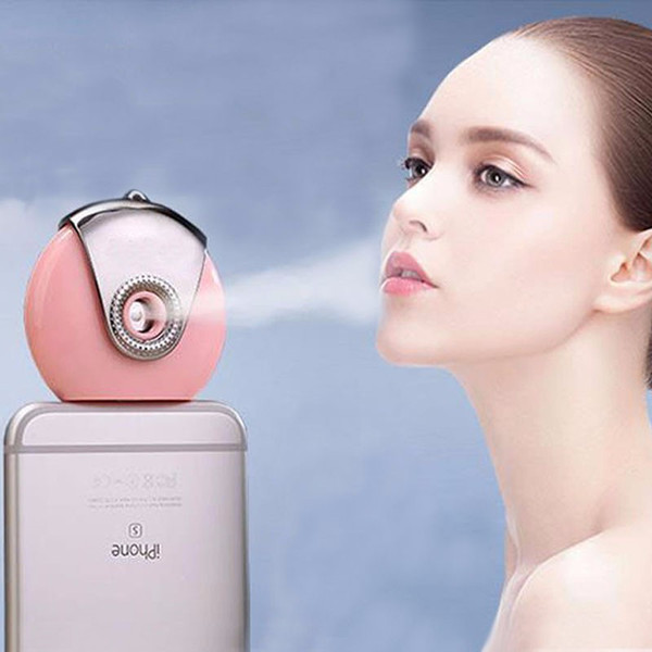 Portable Mini Phone Humidifier Cell Phone Beauty Mist Spray Diffuser