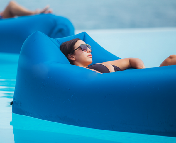 NEW 2017 Design Fast Inflatable Outdoor Air Lounger