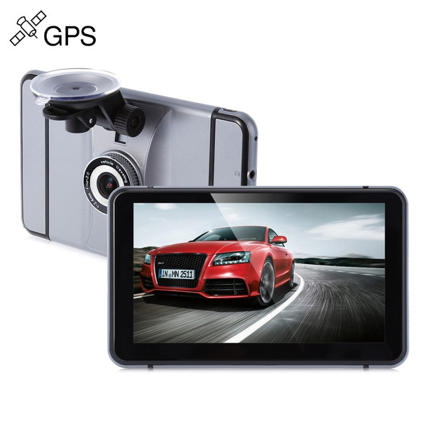 Android GPS navigator Capacitive HD screen car DVR 1080P wifi bluetooth AV in support