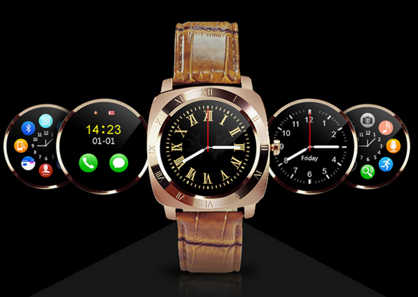 Classic Design SmartPro Phone Watch with Bluetooth and SIM card slot