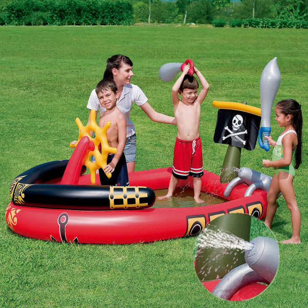 BESTWAY Pirate Ship Padding pool and play system