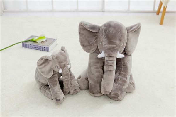 Baby Elephant Lumbar Pillow