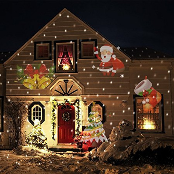 Christmas LED outdoor waterproof Laser Projector multi-pattern choices