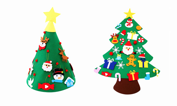 Deluxe Christmas Felt Tree DIY Craft