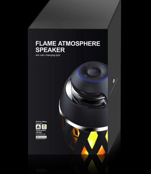 Flame Atmosphere Bluetooth Speaker