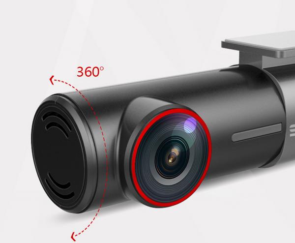 Mini WiFi Car DVR 140 Wide Angle Night Vision Car DVRS Camera + 360 Degree Rotatable Recorder
