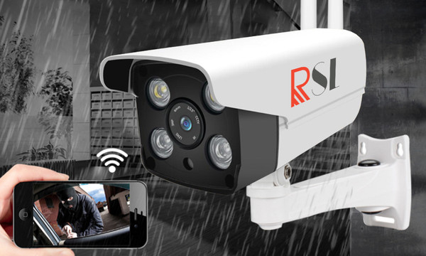 RSL outdoor IP camera with 30 days record  memory