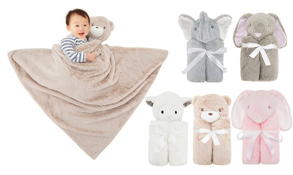 2in1 soft blanket with plush
