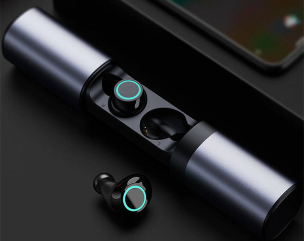 HONOR S8 Bluetooth 4.2 wireless earbuds with metal charging case