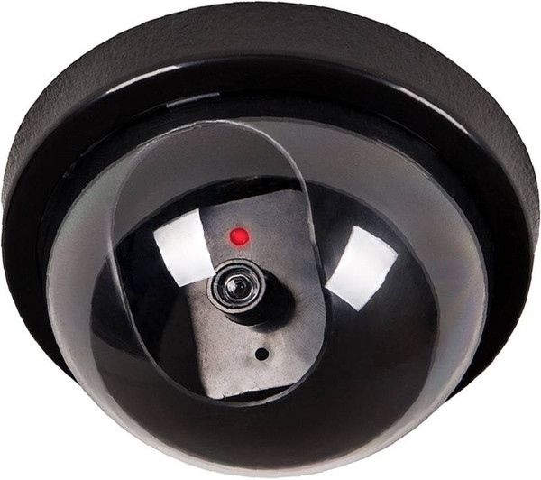 Dummy CCTV Security Cameras with Flashing LED Light