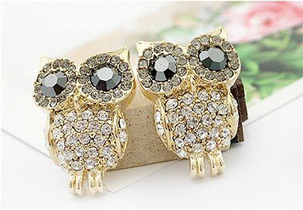 Cute owl earings