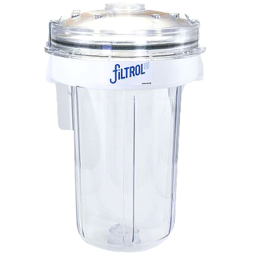 The original Filtrol washing machine filter.  Wexco is the exclusive distributor for the patented Filtrol, the only true washing machine filter designed for washing machines on the market.