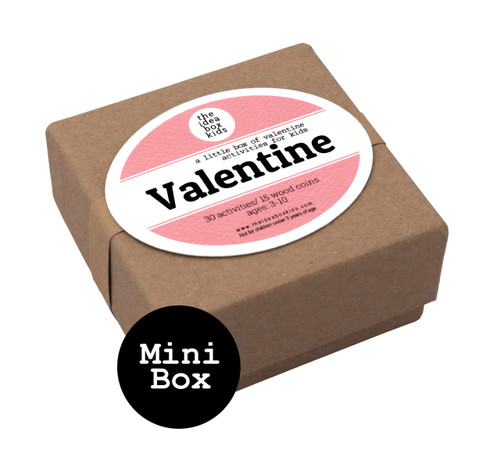 Mini Box: Valentine Activities for Kids