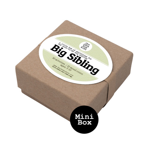 Mini Box: Big Sibling - Activities to Prepare for a New Sibling
