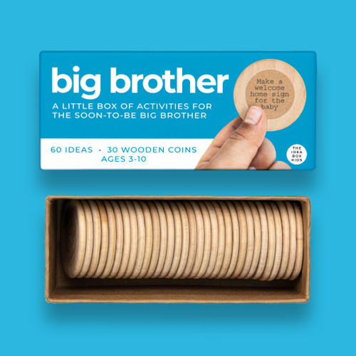 Big Brother Activities to Prepare for a New Sibling