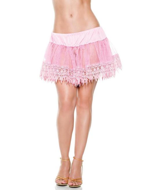 Plus Size Teardrop Petticoat Tutu Costume Festival Accessories