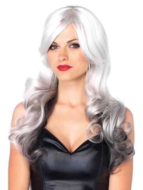Ombre Long Wavy Adjustable Multi Color Wig