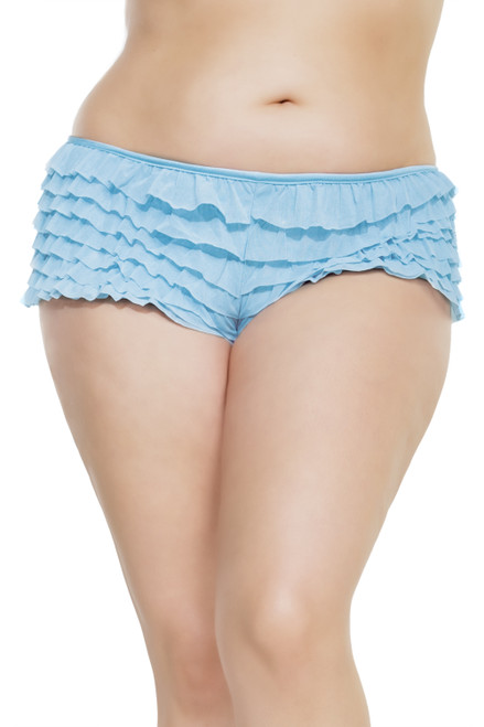 Plus Size Ruffle Boyshort Rumba Panty