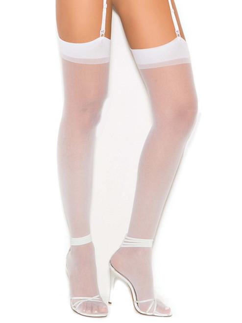 Bridal Thigh High Stockings
