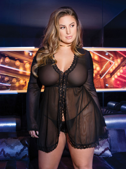 Flared Long Sleeve Babydoll